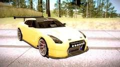 Nissan GT-R BenSopra pour GTA San Andreas