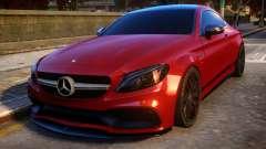 Mercedes-Benz AMG C63S Coupe pour GTA 4