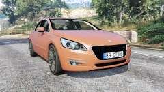 Peugeot 508 GT 2010 v1.1 [replace] pour GTA 5