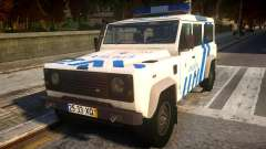 Land Rover Defender Police