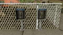 Public Telephone - HD Model pour GTA San Andreas