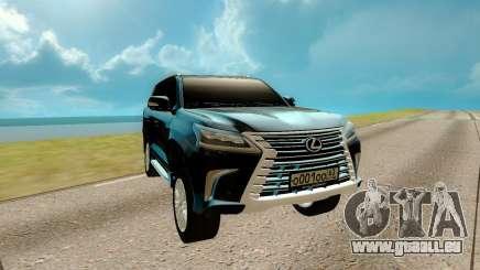 Lexus LX 570 für GTA San Andreas
