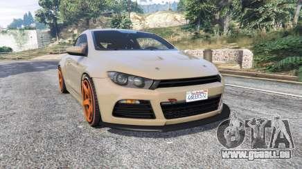 Volkswagen Scirocco v1.1 [replace] pour GTA 5