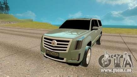 Cadillac Escalade 6.2 pour GTA San Andreas