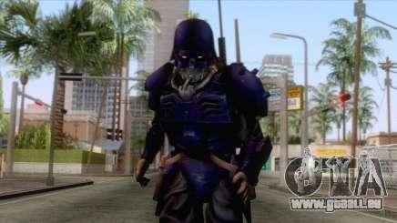 Kerberos Panzer Cop Blue Skin pour GTA San Andreas