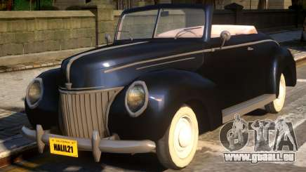 Ford DeLuxe Convertible 39 pour GTA 4