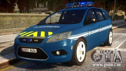 Ford Focus Gendarmerie pour GTA 4