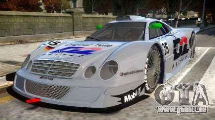 1998 Mercedes-Benz CLK LM pour GTA 4