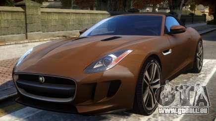 2014 Jaguar F-Type (EPM) pour GTA 4