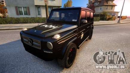 Mercedes-Benz G65 AMG special operations für GTA 4