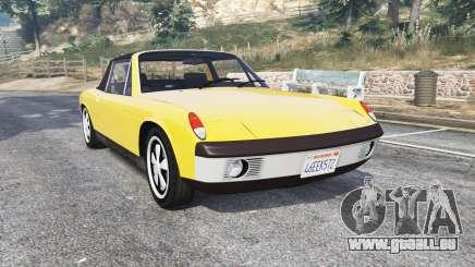 Porsche 914-6 1970 v1.1 [replace] für GTA 5