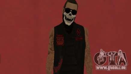 Le Punisher MFR gang de motards pour GTA San Andreas