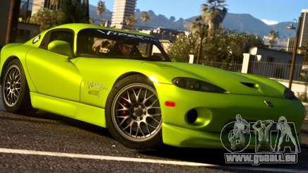 1999 Dodge Viper GTS ACR 1.4 pour GTA 5