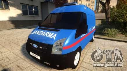 Ford Transit Jandarma pour GTA 4