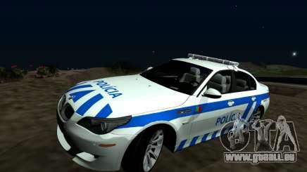 BMW M5 E60 PSP - Portuguese Police Car für GTA San Andreas