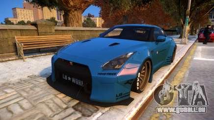 Liberty Walk Nissan GT-R R35 pour GTA 4