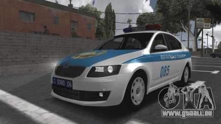 Skoda Octavia Mk3 Kazakh Police pour GTA San Andreas