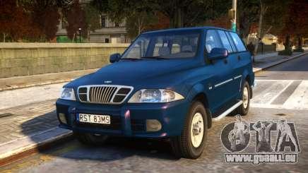 1999 Daewoo Musso HI-DLX für GTA 4