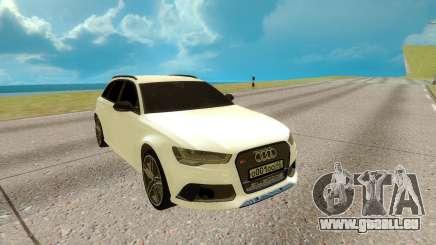 Audi RS 6 Avant für GTA San Andreas