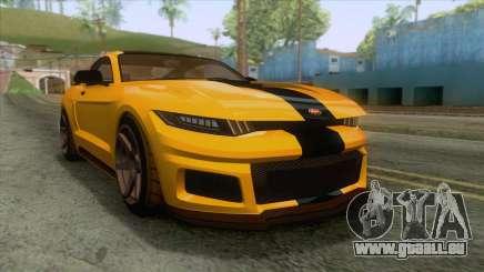 GTA 5 - Vapid Dominator GT350R IVF für GTA San Andreas
