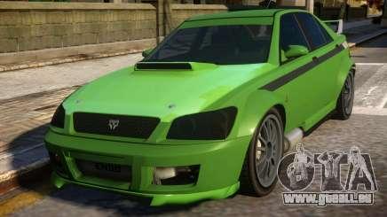 All New Karin Sultan RS GTA IV für GTA 4
