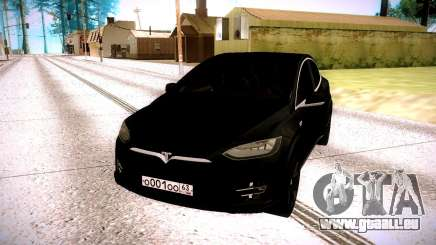 Tesla Model X pour GTA San Andreas