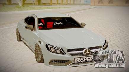 Mercedes-Benz C63S für GTA San Andreas