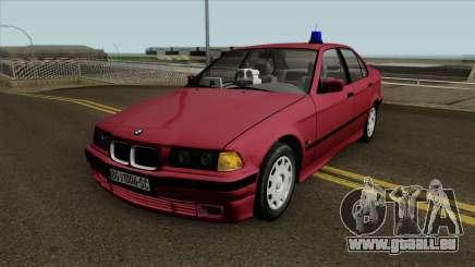 BMW 320i e36 Civil Police für GTA San Andreas