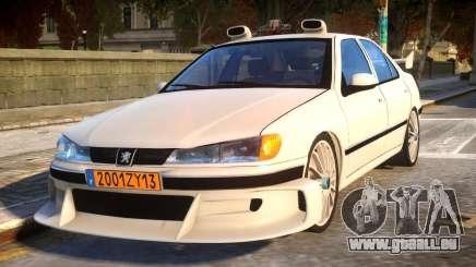 Peugeot 406 Taxi 2 pour GTA 4