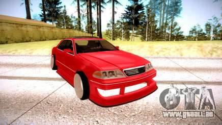 Toyota Mark 2 rouge pour GTA San Andreas