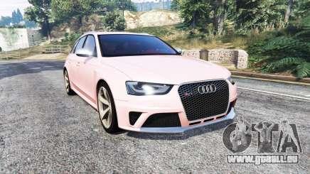Audi RS 4 Avant (B8) 2013 [replace] pour GTA 5