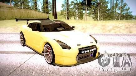 Nissan GT-R BenSopra für GTA San Andreas