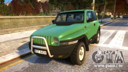 1999 Daewoo Korando TD für GTA 4