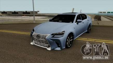 Lexus GS 350 2017 für GTA San Andreas