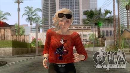 Sims 4 - Lana Casual Skin v2 pour GTA San Andreas
