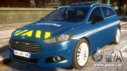 Ford CMax 2013 Gendarmerie Nationale pour GTA 4