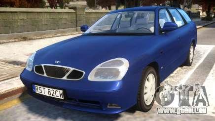Daewoo Nubira II Wagon CDX PL 2000 pour GTA 4