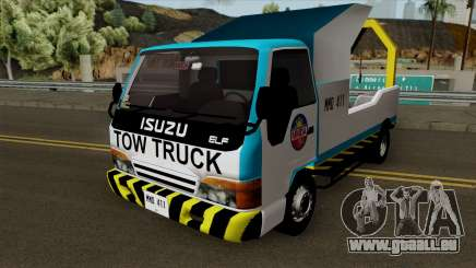 Isuzu ELF Philippine Government Tow Truck pour GTA San Andreas