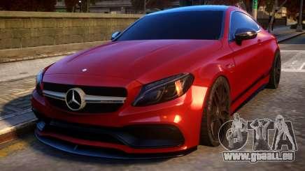 Mercedes-Benz AMG C63S Coupe für GTA 4