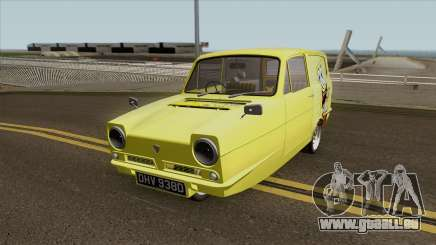 Reliant Robin Supervan III - Spongebob version für GTA San Andreas