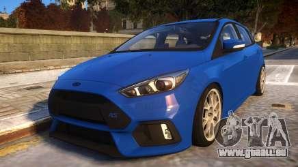 2017 Focus RS STOCK EDIT für GTA 4