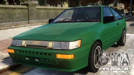 1985 Toyota AE86 Levin V2 pour GTA 4