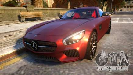 Mercedes-Benz AMG GT3 2016 Baku Version pour GTA 4