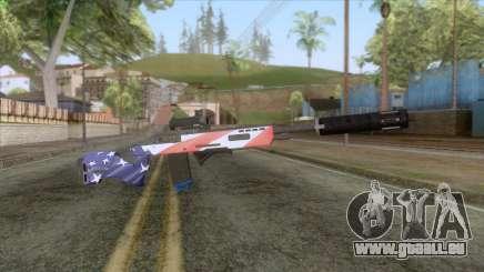 The Doomsday Heist - Sniper Rifle v2 für GTA San Andreas