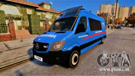 Mercedes Sprinter Jandarma für GTA 4