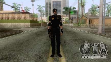 Leon Intel Cop Skin 1 für GTA San Andreas