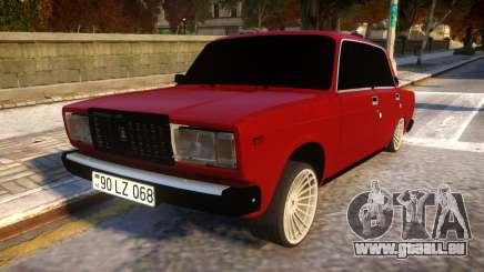VAZ 2107 Forever Azerbaijan pour GTA 4