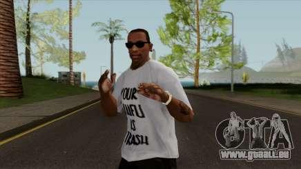Your Waifu is Trash T-Shirt für GTA San Andreas