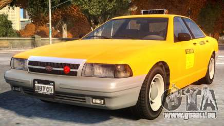 Vapid Stanier 2th gen Taxi für GTA 4