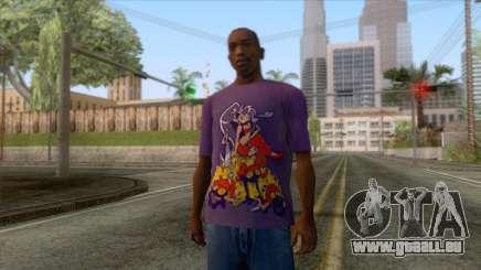 Shantae T-Shirt 2 für GTA San Andreas